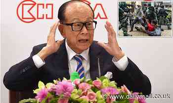 Hong Kong's richest man, 91, backs China national security law