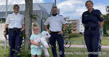 Bamberger Polizei rettet Einhorn