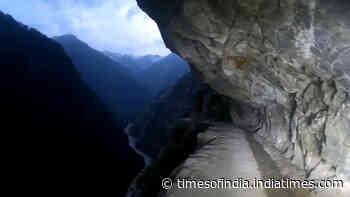 Watch: World's most dangerous road between J&K's Kishtwar and Himachal's Killar