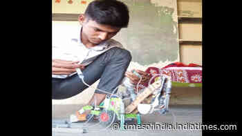 This kid uses air pressure to move prototype JCB