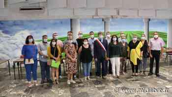 Le maire Didier Bresson et son équipe entrent en fonction - Midi Libre