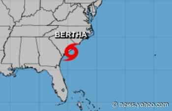 Tropical Storm Bertha forms near South Carolina coast