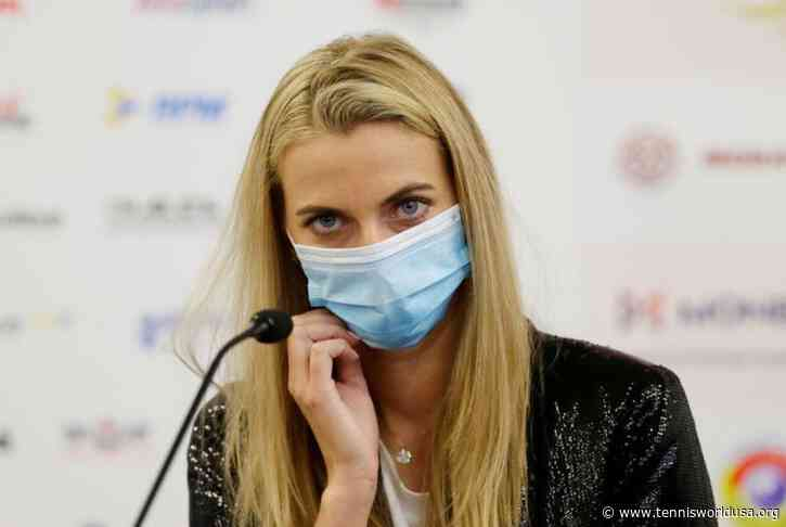 Petra Kvitova: Playing a Grand Slam without fans doesn't look nice to me
