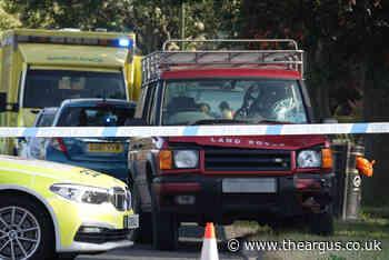 Southwick: Cyclist suffers broken bones in Land Rover crash