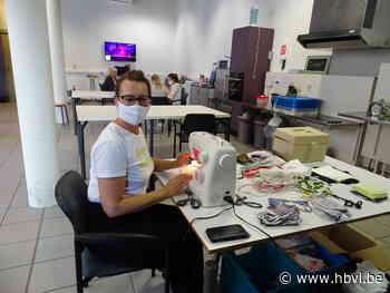 Crea-atelier van De Botermijn maakt mondmaskers (Beringen) - Het Belang van Limburg