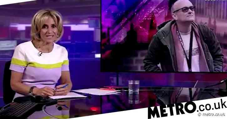 Calls for BBC to investigate Newsnight's Emily Maitlis as she's accused of breaking rules over Dominic Cummings comments