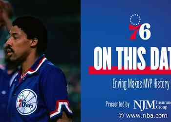 On This Date | Erving Makes MVP History