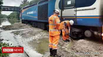 Corby train crash: 'Ineffective' flood system caused landslide