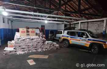 Polícia Federal em Uberaba investiga contrabando de cigarros apreendidos em Campina Verde - G1
