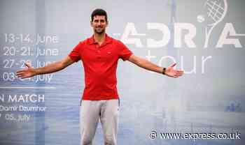 Novak Djokovic reveals lockdown secret - 'I was able to train almost every day' - Express