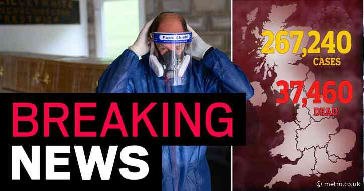 UK death toll rises to 37,460 after another 412 die