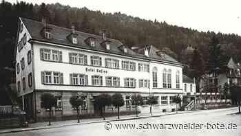 Oberndorf a. N.: Einstiger Glanz weicht schmucklosem Bau - Oberndorf a. N. - Schwarzwälder Bote