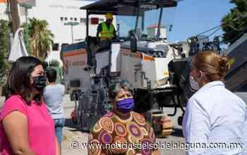 Rehabilitan el crucero de la colonia Chapala - Noticias del Sol de la Laguna
