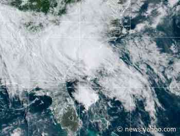 Tropical Storm Bertha makes landfall on South Carolina's coast