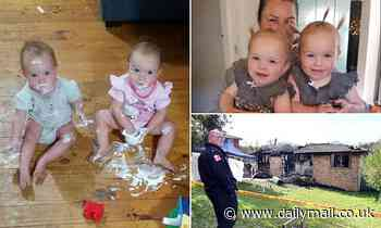 Batlow house fire: Twin girls trapped inside after back door sealed shut by flames as mother watched