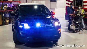 Ford Police Interceptor Utility can destroy coronavirus by baking it