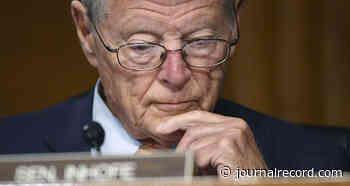 US closes probes into Inhofe, 2 other senators over stock trades