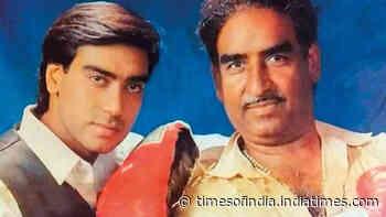 Ajay Devgn takes a trip down memory lane on father Veeru Devgan's first death anniversary