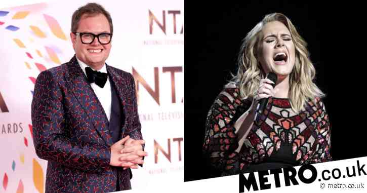 Alan Carr refuses to let social life slip in lockdown as he FaceTimes Adele and wants in on diet tips