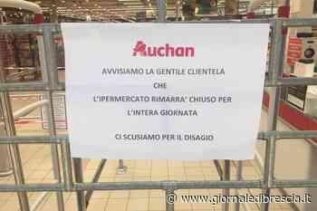 Auchan-Conad: sciopero a Roncadelle contro i trasferimenti - Giornale di Brescia