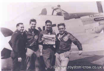 Steeple Morden: 355th Fighter Group photo on VE Day - Royston Crow