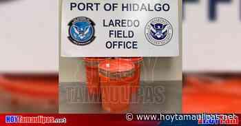 Incautan 2.4 mdd en metanfetaminas en Puente Reynosa-Hidalgo - Hoy Tamaulipas