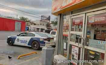 Ladrón amenaza a empleada con cuchillo y asalta Oxxo en Reynosa - Vox Populi