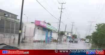 Lluvias dejan solo encharcamientos en Reynosa - Hoy Tamaulipas