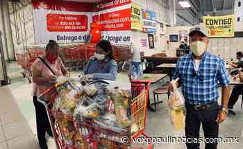 Abuelitos empacadores son apoyados por el DIF Reynosa - Vox Populi