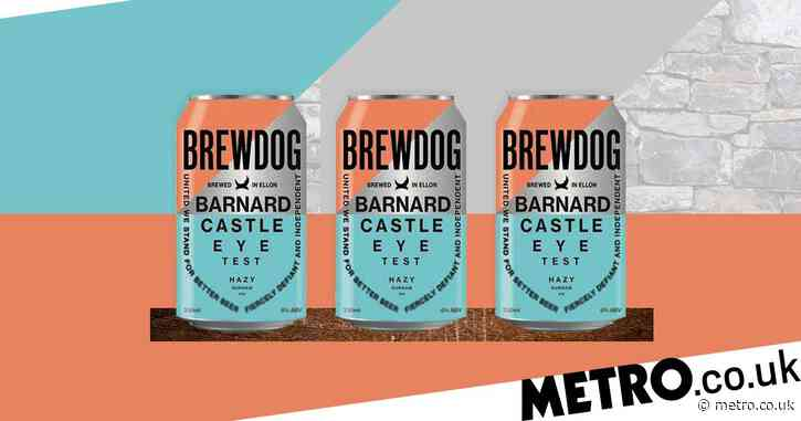 BrewDog launches Barnard Castle Eye Test beer after Dominic Cummings row