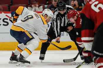 Nashville Predators vs Arizona Coyotes: Forwards Breakdown
