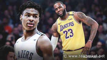 Bronny James vs Emoni Bates = next LeBron vs next Kevin Durant - TalkBasket.net
