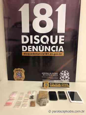 Denarc de Venda Nova do Imigrante prende em flagrante suspeito transportando metanfetamina - Jornal Pérola Capixaba