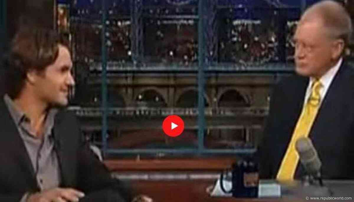 Roger Federer gives stirring prophecy in 2005 interview with David Letterman: Watch - Republic World - Republic World