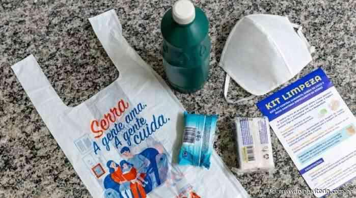 Barreiras sanitárias são montadas em bairros da Serra e kits de higiene serão distribuídos - Folha Vitória