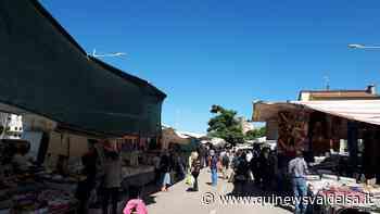 Tanta gente per il mercato completo di Poggibonsi - Qui News Valdelsa