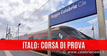 Reggio Calabria: la prima corsa di prova di Italo - Calabria News