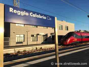 Reggio Calabria, Italo arriva per la prima volta alla Stazione Centrale per la corsa prova [FOTO] - Stretto web