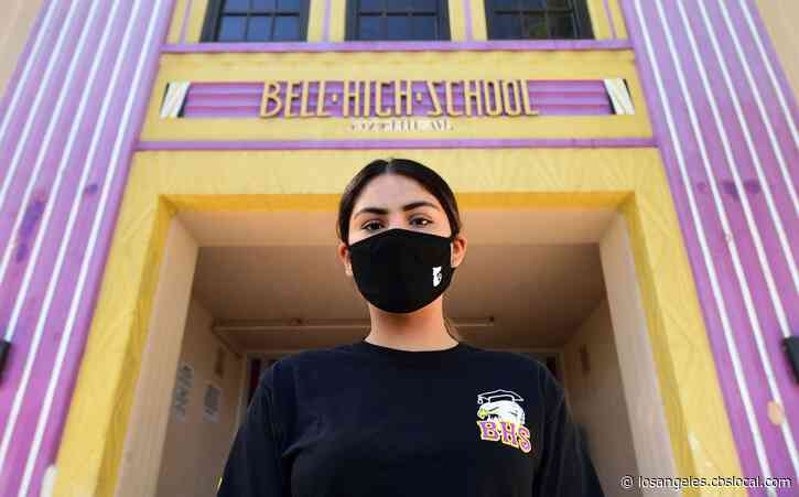 Students To Wear Face Masks At All Times Under LA County Plan To Reopen Schools