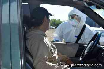 Instalan filtro sanitario en entrada de Nuevo Casas Grandes con equipamiento y seguridad adecuados - Juárez a Diario