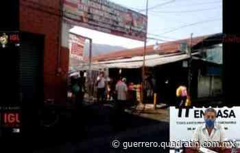 Se ponen agresivos: impiden sanitización en mercado de Iguala - Quadratín Michoacán