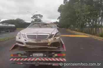 Deputado e motorista sofrem acidente de carro na BR-153 em Frutal - Pontal Emfoco