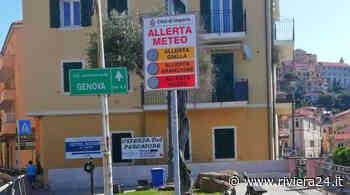 Imperia, installati i pannelli semaforici per le allerte meteo - Riviera24