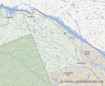 Small forest fire not under control between Deep River and Rolphton - renfrewtoday.ca