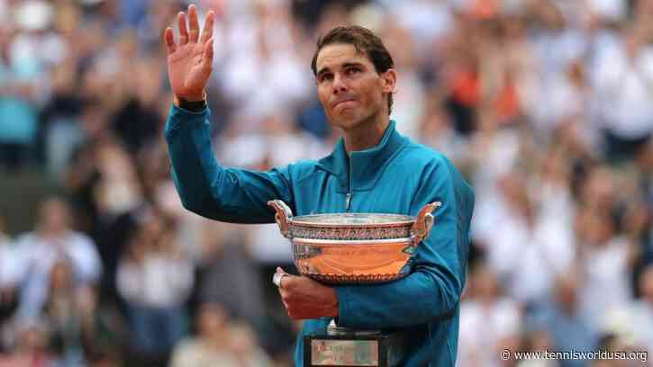 Rafael Nadal: I have no doubt that someone will break my record at Roland Garros