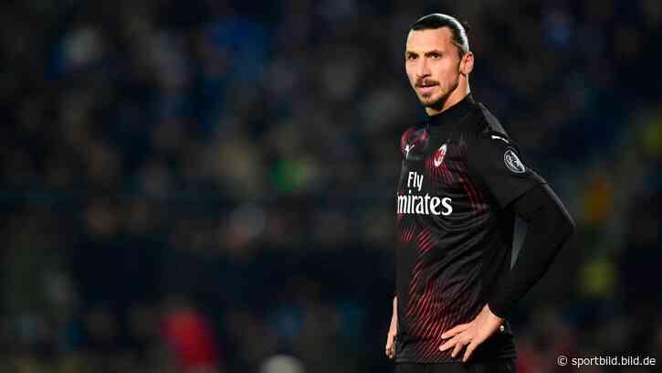 Zlatan Ibrahimovic: Entwarnung nach Trainingsverletzung - SportBILD