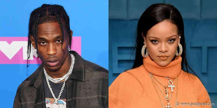 Podcast Host Claims Travis Scott Was Mad at Him for Exposing Romance with Rihanna