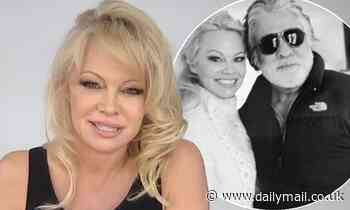Pamela Anderson jokes that her 12-day marriage to Hollywood producer Jon Peters 'never happened' - Daily Mail