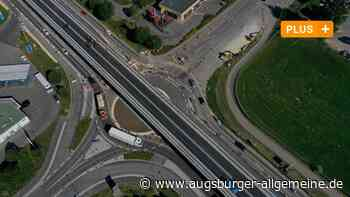 Freie Fahrt über die neue B10-Brücke in Neu-Ulm - Augsburger Allgemeine