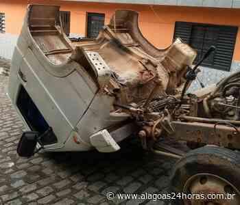 Cabine de caminhão a serviço da prefeitura se desprende em Joaquim Gomes - Alagoas 24 Horas
